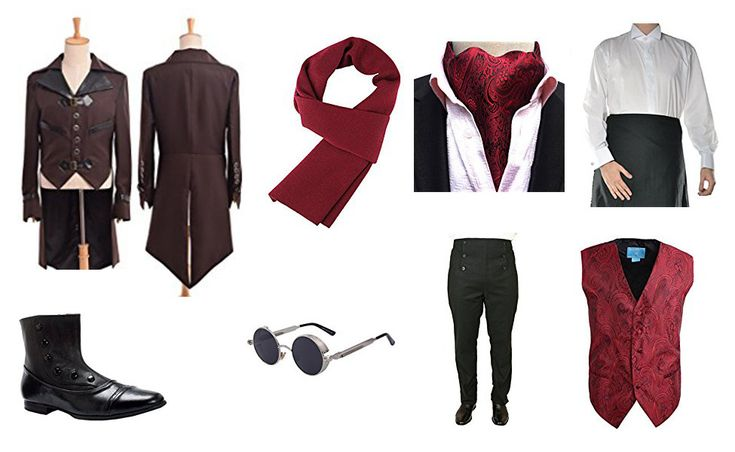 Henry Sturges Costume from Abraham Lincoln, Vampire Hunter