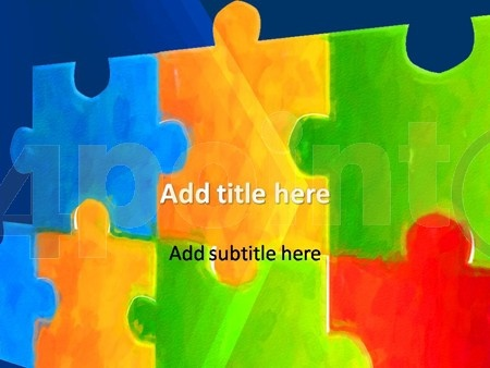 16 best Presentation images on Pinterest Power point templates - puzzle powerpoint template