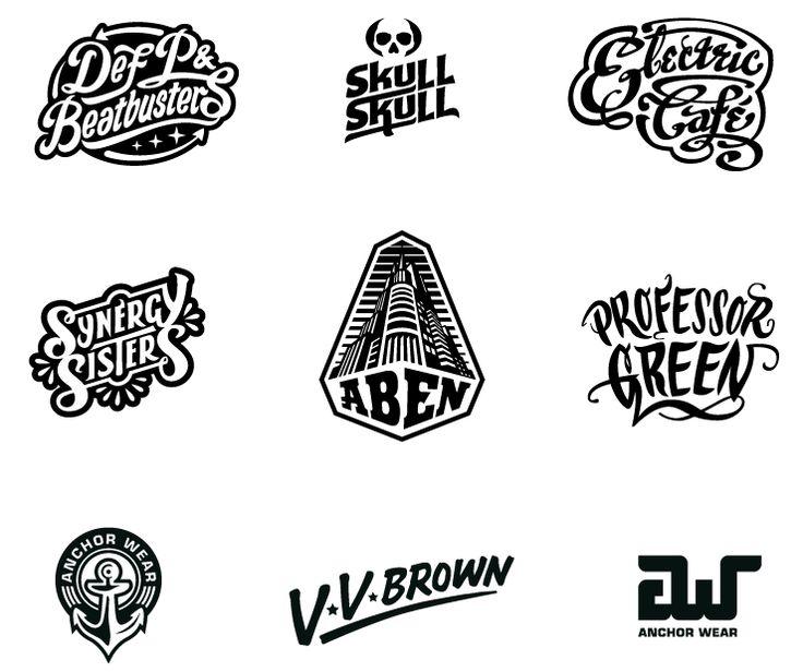 Various Logos by Eric van den Boom aka BoomArtwork