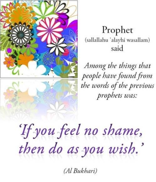 if you feel no shame, than do as you wish