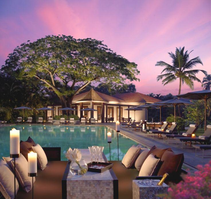 The relaxing Leela Goa Resort, India.