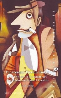 """Luigi Gussago """"Picaresque Fiction Today"""". (Lam edition, 2016). Cover illustration by Eugene Ivanov #book #cover #bookcover #illustration #eugeneivanov"""