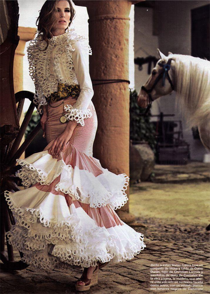 Falda y blusa