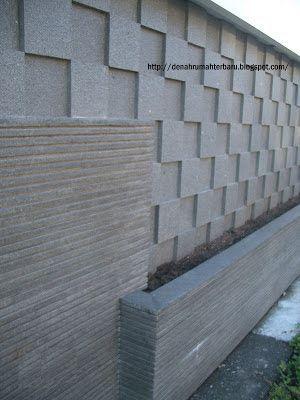 Pagar Rumah Batu Alam : pagar, rumah, Pagar, Rumah, Tembok, Persegi, Desain, Eksterior,, Rumah,