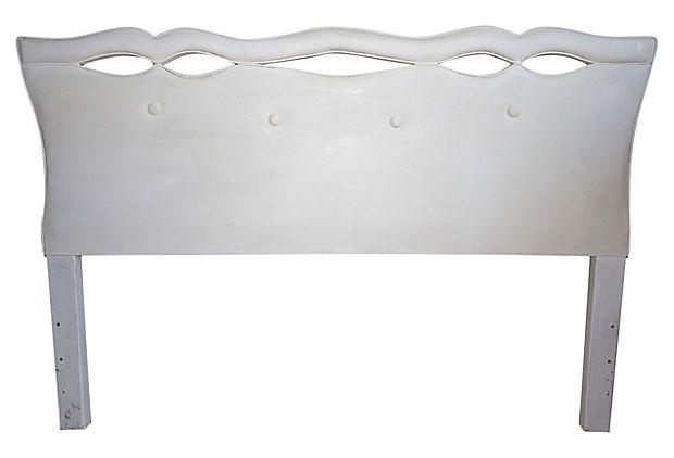 Upholstered Midcentury Headboard on OneKingsLane.com