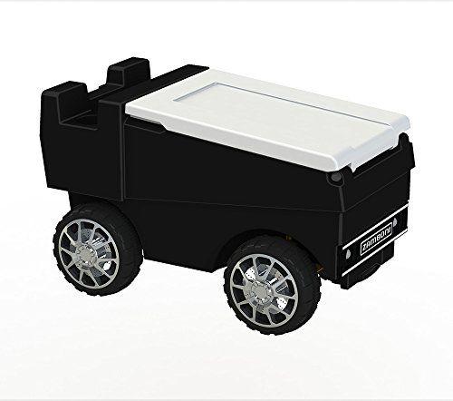 Zamboni RC Motorized Cooler | Black C3 Custom Coolers