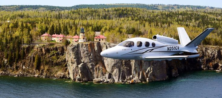 The Cirrus SF50 Vision Jet Is the World's Smallest And Cheapest Private Jet