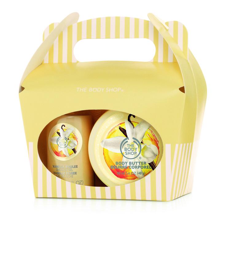 The Body Shop Vanilla Blulee Treat Box R100.00