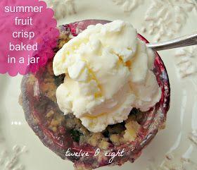 mason jar recipes mason jars summer fruit summer desserts mini ...