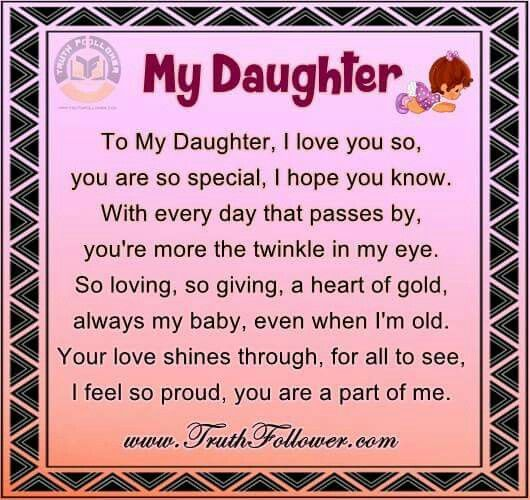 I Love My Daughter Quotes For Facebook 2: 17 Best Images About Mother