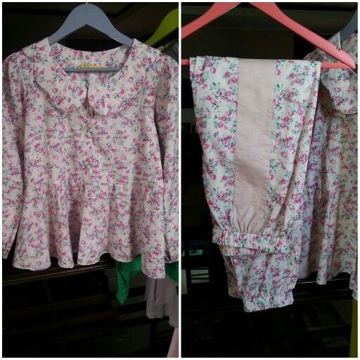 Vintage blouse and pants , pin bb 758C8C80