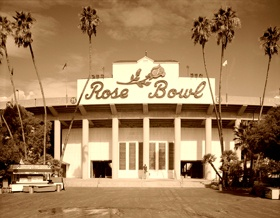 The Rose Bowl Stadium was built in 1922.