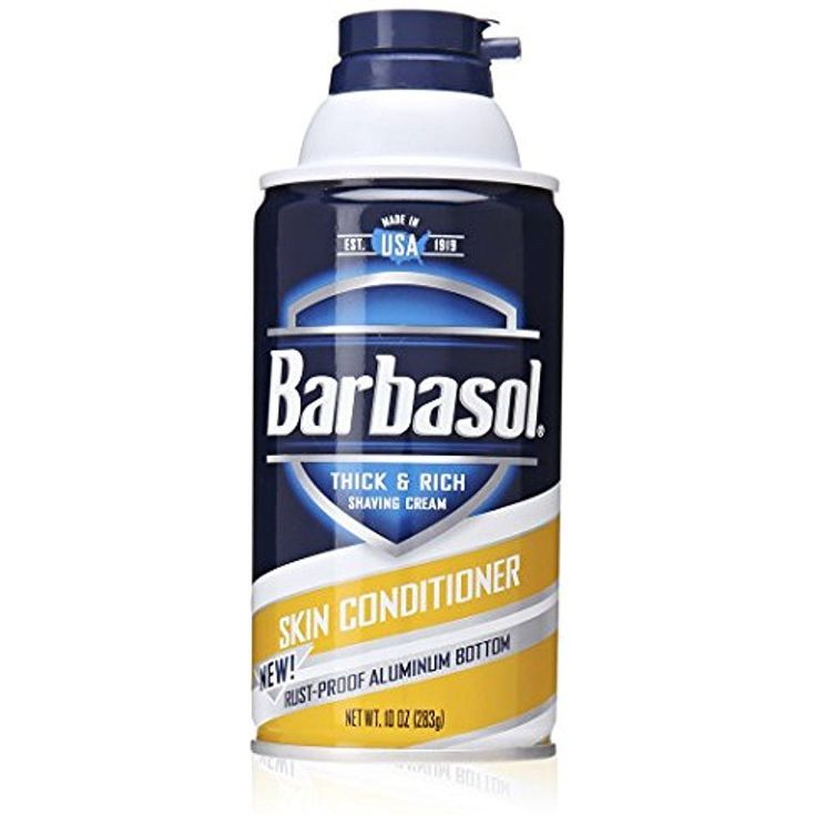 Barbasol Shaving Cream Skin Conditioner Beard For Men Thick and Rich 10 Ounce #Barbasol