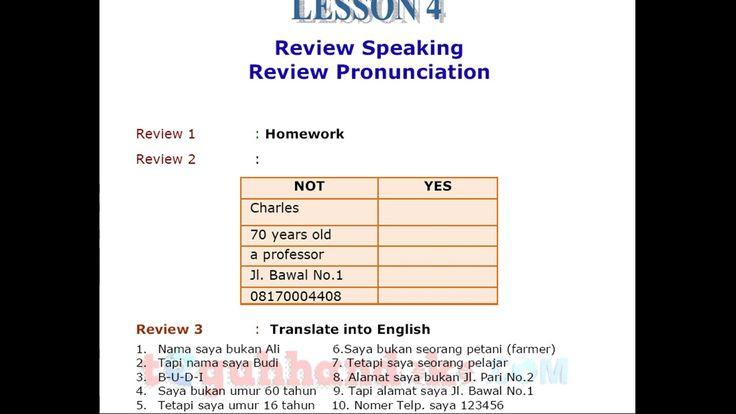 Belajar Bahasa Inggris Pemula untuk anda yang masih belum bisa berbahasa inggris. untuk itu pada kesempatan kali ini anda akan belajar bagaimana mentranslate...