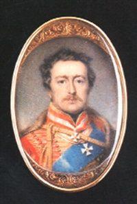 Frederick VI, Landgrave of Hessen-Homburg in uniform by François Joseph Juste Sieurac