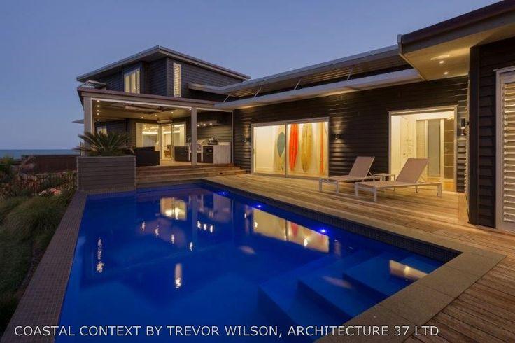 Designed by ADNZ member Trevor Wilson #ADNZ #architecture #pool