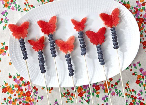 Traktatie | Vlinderstokjes - simpel koken, traktatietips | Flair at Home