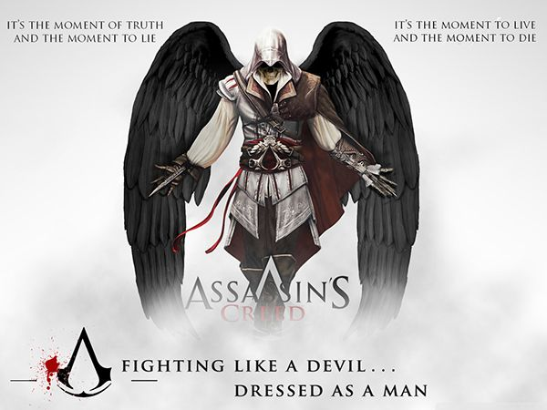 Wallpaper Assassin's Creed on Behance