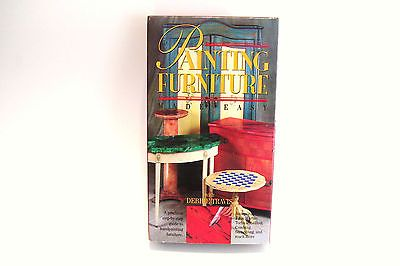 VHS Debbie Travis Painting Furniture Made Easy Vintage Techniques Project Craft