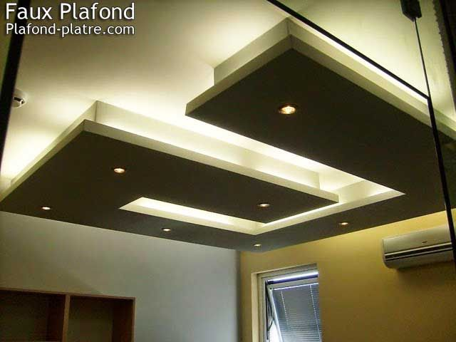 Best 25 faux plafond suspendu ideas only on pinterest - Model faux plafond salon ...