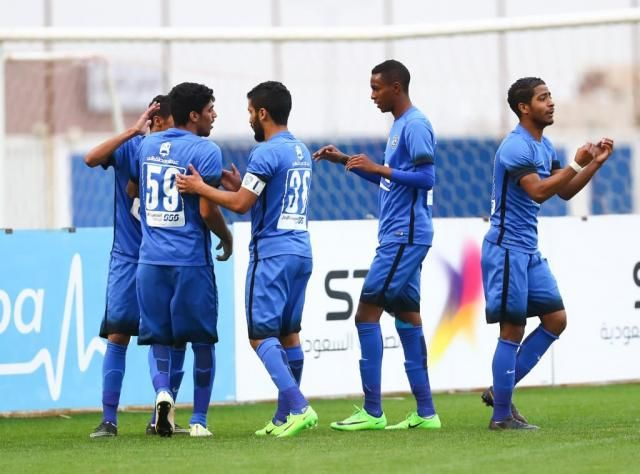 "Al-Hilal Olympic football team beats ""Ohod"" and continues leading U-21 league"