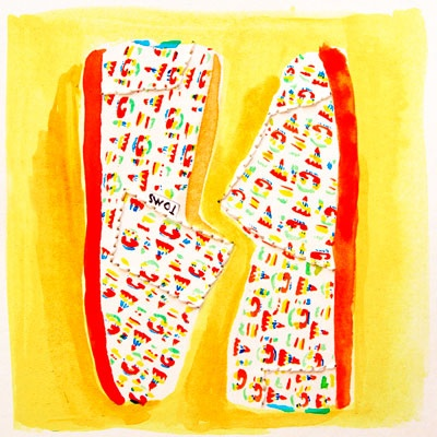"""Make two kids happy, #OneforOne // These """"GIVE"""" Tiny TOMS Classics feature art by Artists/Sisters Maricor & Maricar Manalo and are VERY LIMITED. Get 'em while they last! // www.TOMS.com/12Days"""