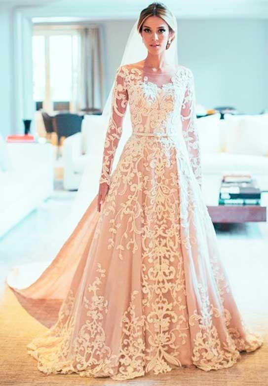 Paula Drummond vestido de noiva Sandro Barros