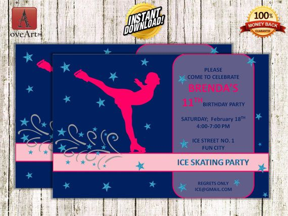 Hey, I found this really awesome Etsy listing at https://www.etsy.com/listing/248928342/instant-download-ice-skating-invitation