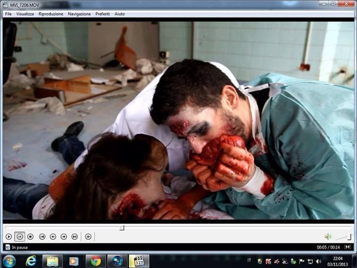 special fx special effects make up by giada gilardoni cortometraggio the last of us
