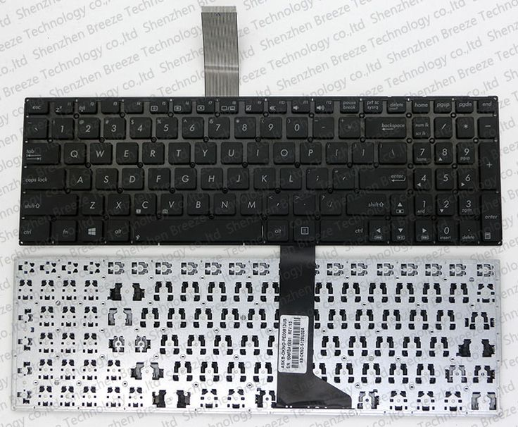 Tested New laptop replacement keyboard for ASUS X550C A550 X550V A550C A550VB Y581C X550 S550 with US layout Black Free shipping