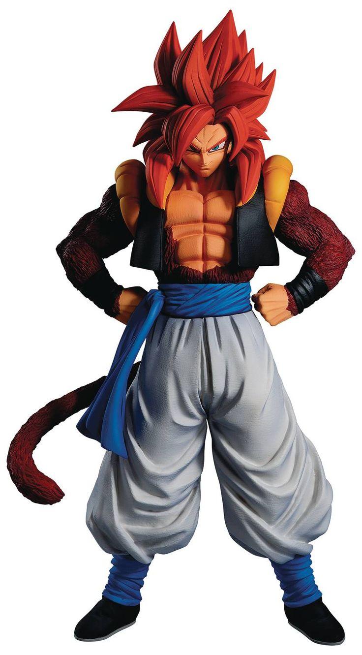 Dragon Ball Gt Super Saiyan 4 Gogeta Ichiban Statue Dragon Ball Gt Dragon Ball Super Saiyan 4 Goku