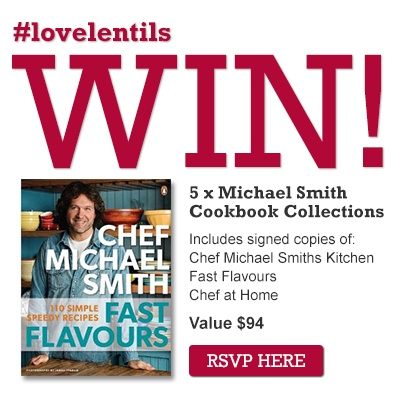 #LoveLentils Prize Pack from Chef Michael Smith May 14, 2013 @ 8pm with @CdnLentils and @ChefMichaelSmth