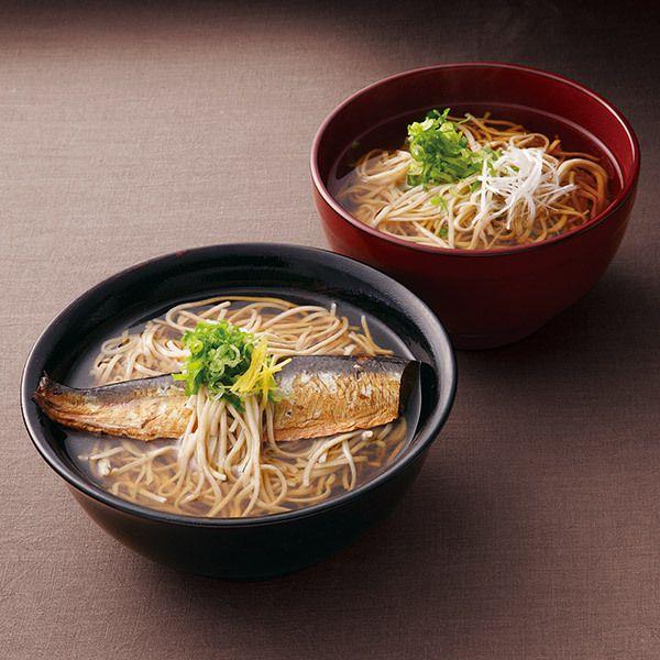 大阪難波で愛されるお蕎麦専門店〈源氏蕎麦〉より。【にしんそば・かけそば詰合せ(TG)】