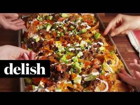 Best Nachos Supreme Recipe - How to Make Nachos Supreme