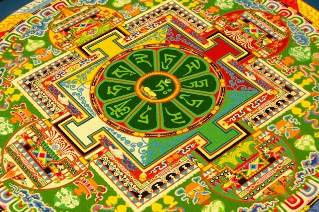 If It Were Real...: Tibetan Sand Mandala
