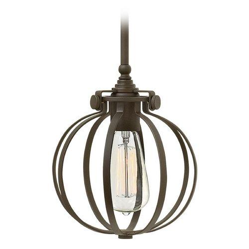 hinkley lighting congress oil rubbed bronze minipendant light