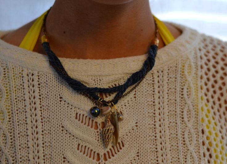 Collar Marina azul en el blog 1sillaparamibolso.