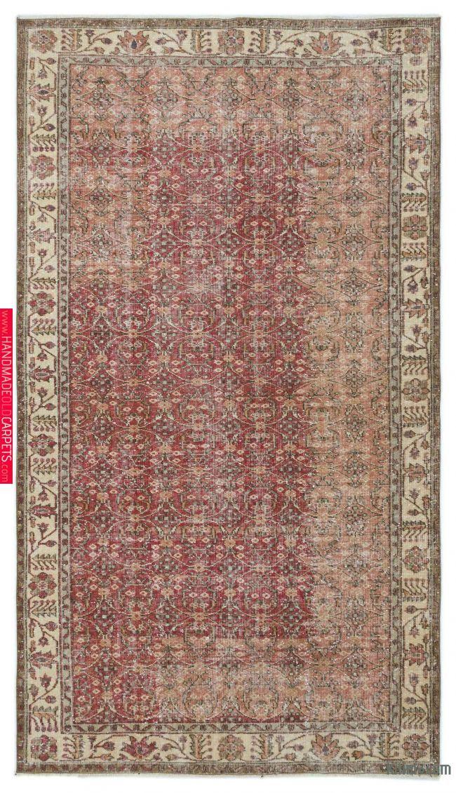 Turkish Vintage Rug 5 1 X 9 1 61 In X 109 In Rugs Rugs On Carpet Area Rugs