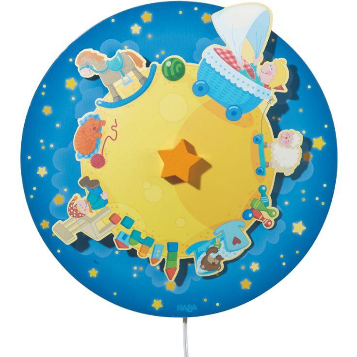 HABA Schlummerlicht Sternenfreunde 301387 #HABA #Kinderzimmer #Schlummerlicht #Kinderleuchte #Leuchte #Lampe #einschlafen #sanft #Wippschalter #Sternenfreunde #Sterne #Stars #Abenteuer #Traumland #Abenteuerland