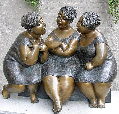 Statue by unknown artist