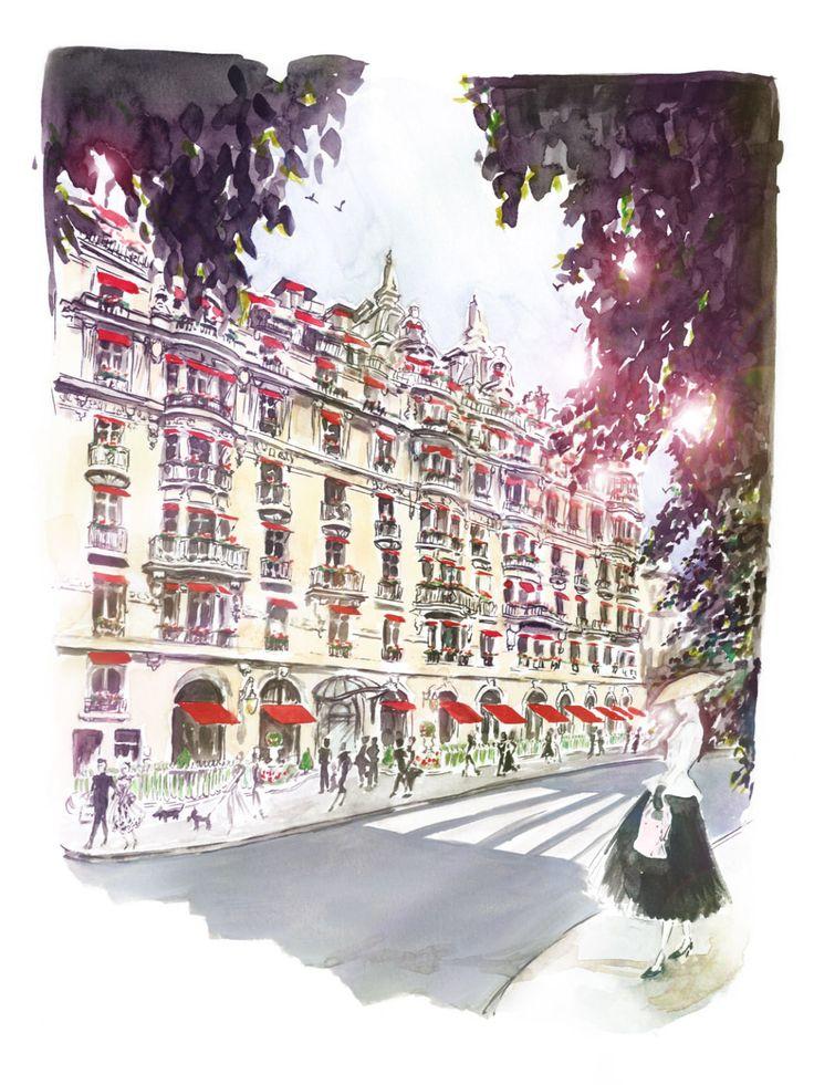 Garance Wilkens - Paris, Plaza Athénée