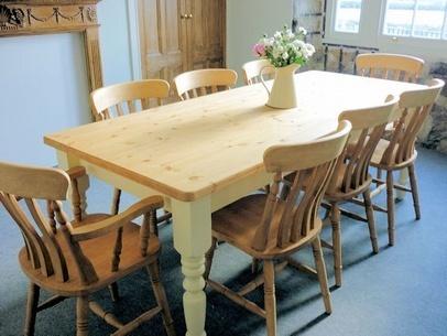 6'x'3 Farmhouse Table Farmhouse Tables