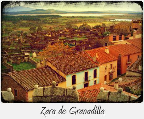 Peaceful village - Via de la Plata (Silver Way), Section 5/10: From Plasensia to Salamanca