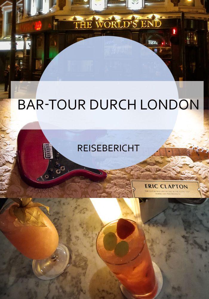 5 verschiedene, sehenswerte Bars in London #london #bar #pub #cocktail #bartour #citytrip #england #hardrock #drinks #reise #reiseblog #bericht
