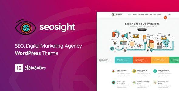 Seosight V4 1 Digital Marketing Agency Wordpress Theme Free Download In 2020 Seo Digital Marketing Digital Marketing Agency Marketing Agency