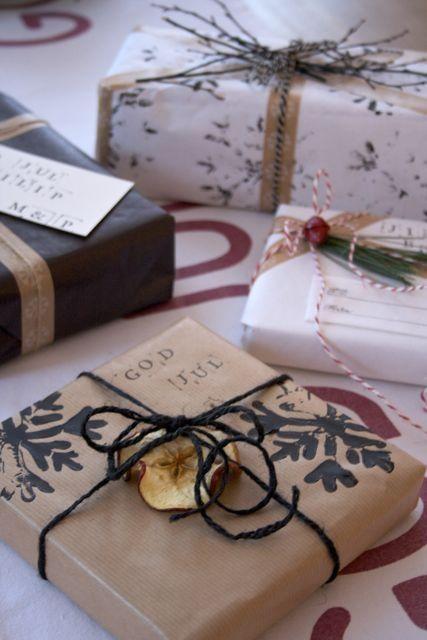 jul inspiration julklapp inslagning paketinslagning julpapper dekoration tips ide-010-032