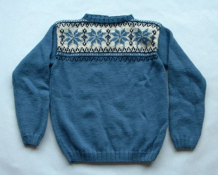 Robinson family sweater!
