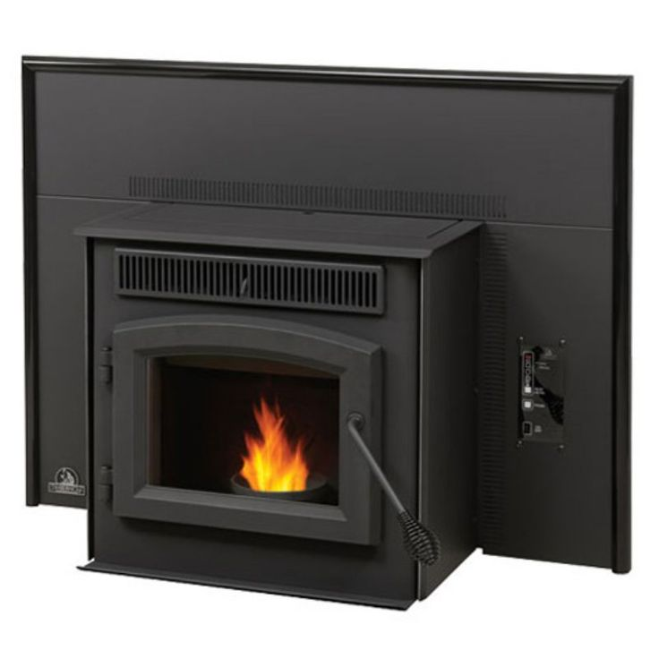 Timberwolf Economizer Pellet Fireplace Insert + Flashing - NED402-1