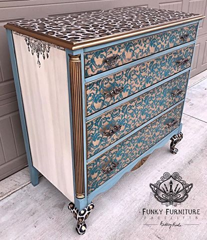 (2) Funky Furniture Facelifts by Brittany Pistole