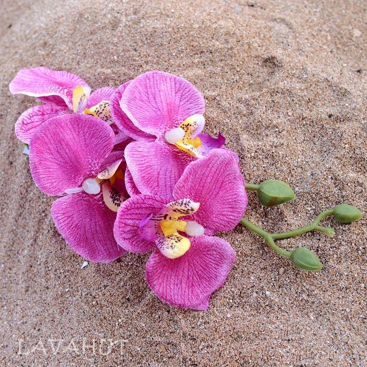 Orchid Plum Hawaiian Flower Hair Clip                                                                                                                                                      More